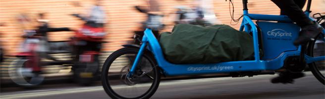 citysprint electric cargo bike