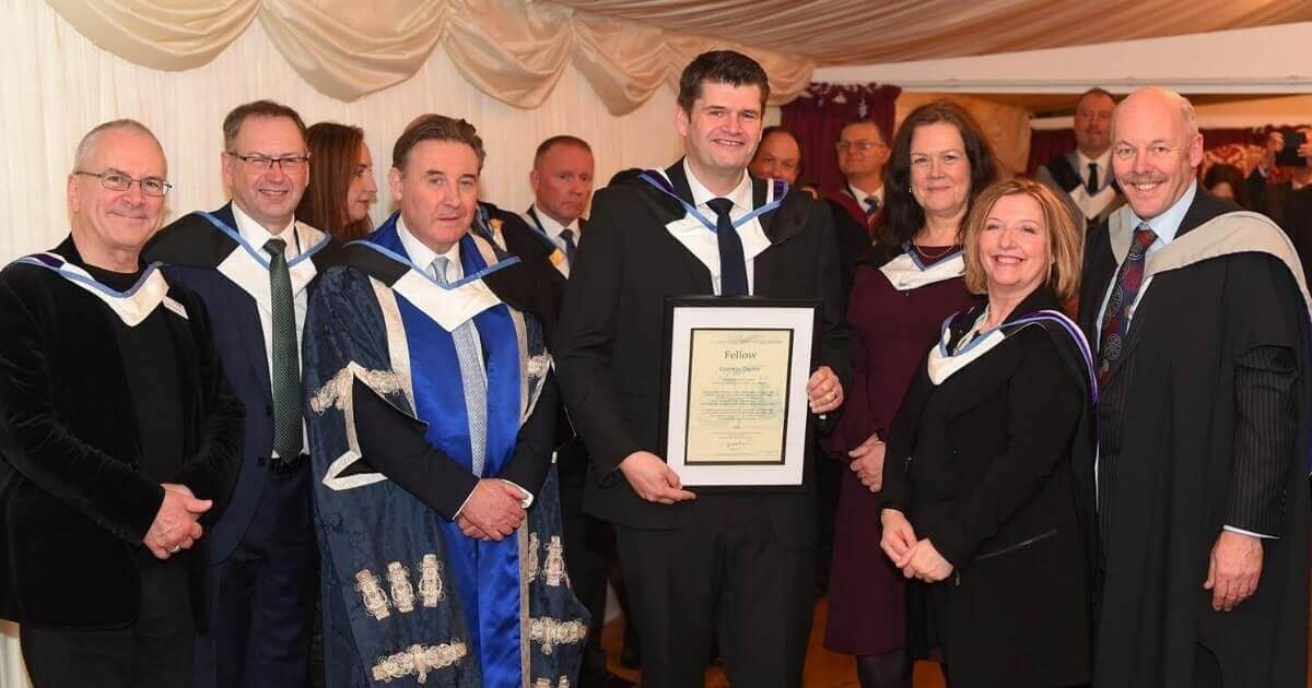 darren taylor becomes honorary fellow