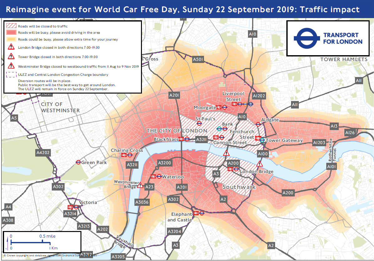 london-road-closures