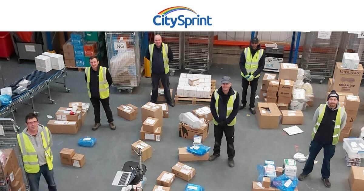 helping the alfreton nhs supply team